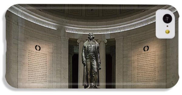 IPhone 5c Case featuring the photograph Thomas Jefferson Memorial At Night by Sebastian Musial