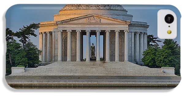 IPhone 5c Case featuring the photograph Thomas Jefferson Memorial At Sunrise by Sebastian Musial