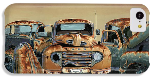 Truck iPhone 5c Case - Three Amigos by John Wyckoff
