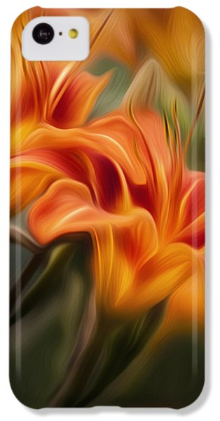 Tiger Lily IPhone 5c Case by Bill Wakeley