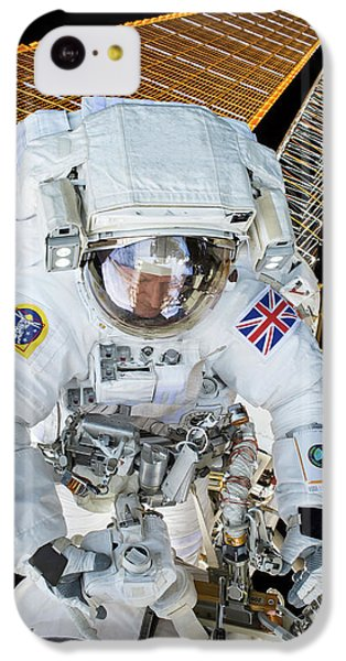 Tim Peake's Spacewalk IPhone 5c Case by Nasa