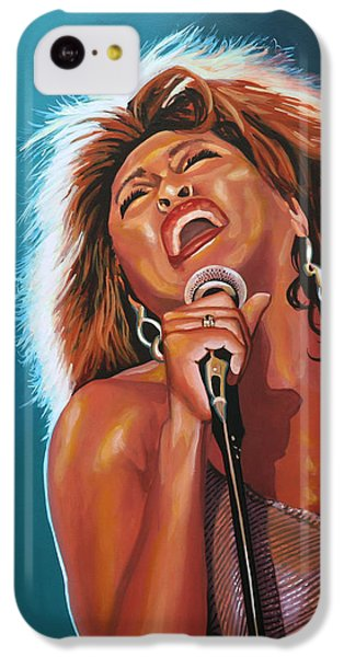 Tina Turner 3 IPhone 5c Case by Paul Meijering