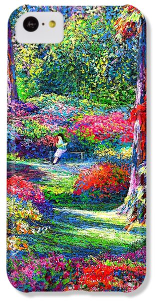 Figurative iPhone 5c Case - To Read And Dream by Jane Small