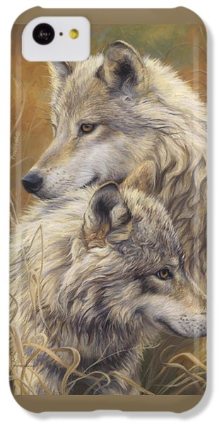 Together IPhone 5c Case by Lucie Bilodeau