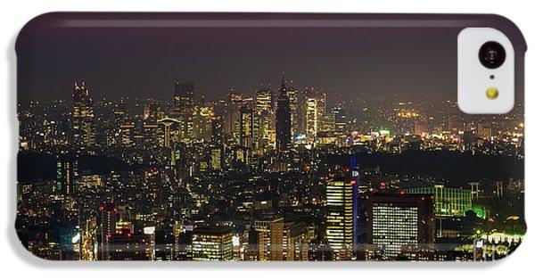 Tokyo City Skyline IPhone 5c Case by Fototrav Print