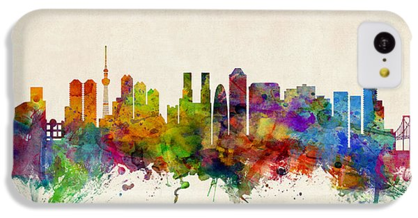 Tokyo Japan Skyline IPhone 5c Case by Michael Tompsett