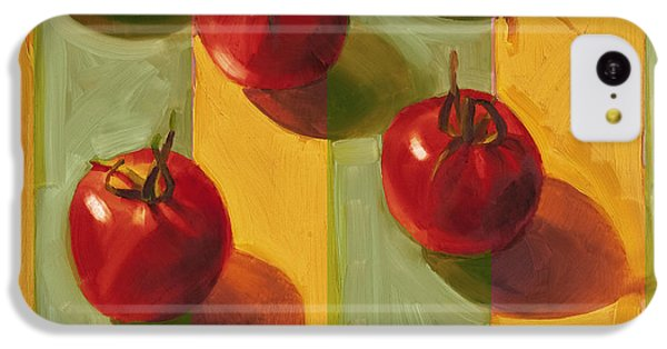 Tomatoes IPhone 5c Case by Cathy Locke