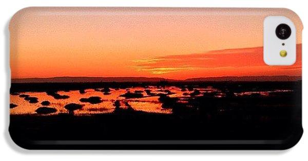 iPhone 5c Case - Tonight's Sunset, Sacramento, Ca by Paul Wallingford