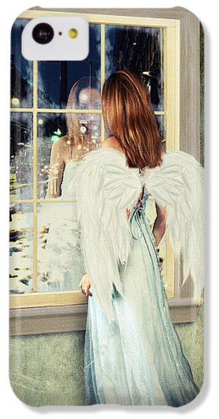 Too Cold For Angels IPhone 5c Case by Linda Lees