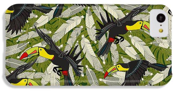 Toucan Jungle IPhone 5c Case