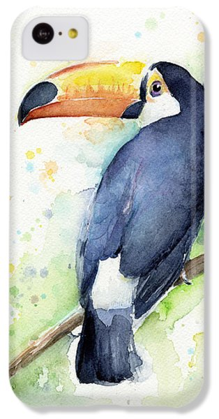 Toucan Watercolor IPhone 5c Case
