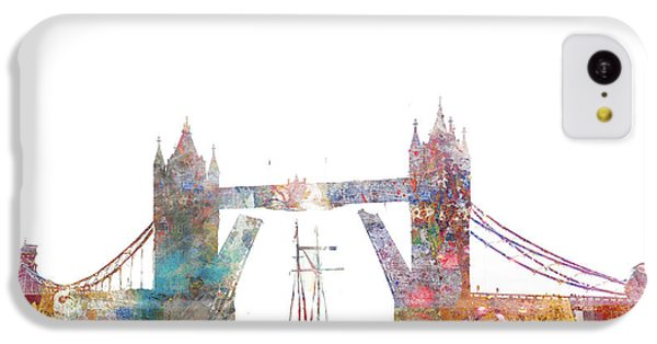 Tower Bridge Colorsplash IPhone 5c Case