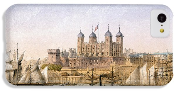 Tower Of London, 1862 IPhone 5c Case by Achille-Louis Martinet