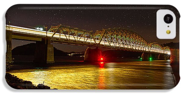 Train Lights In The Night IPhone 5c Case by Miroslava Jurcik