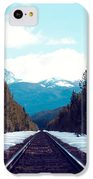 Train To Mountains IPhone 5c Case by Kim Fearheiley