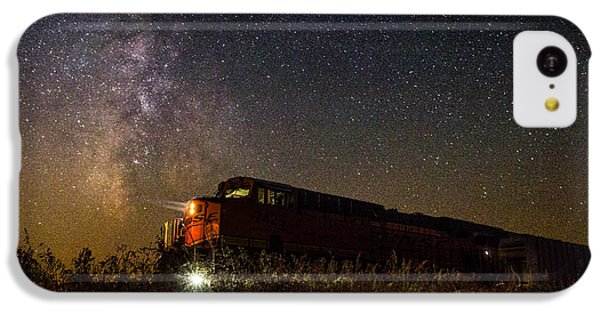 Train To The Cosmos IPhone 5c Case by Aaron J Groen