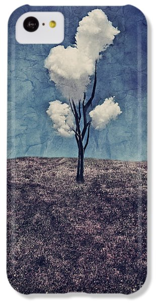 Tree Clouds 01d2 IPhone 5c Case by Aimelle