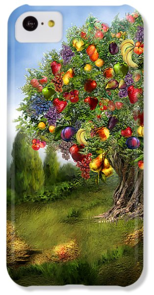 Tree Of Abundance IPhone 5c Case by Carol Cavalaris