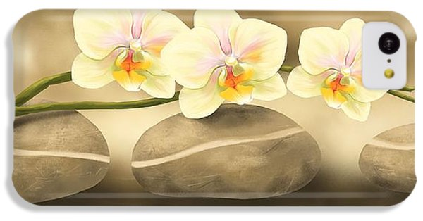 Orchid iPhone 5c Case - Trilogy by Veronica Minozzi
