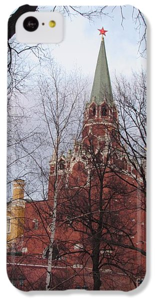 Trinity Tower At Dusk IPhone 5c Case by Anna Yurasovsky