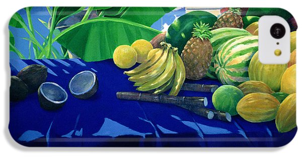 Tropical Fruit IPhone 5c Case by Lincoln Seligman