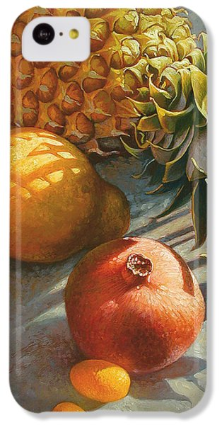 Tropical Fruit IPhone 5c Case by Mia Tavonatti