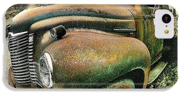 Classic iPhone 5c Case - #truck #rust #rusty #pickup #photo by Jill Battaglia