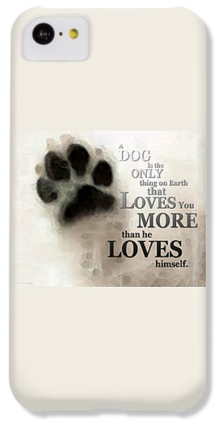 True Love - By Sharon Cummings Words By Billings IPhone 5c Case