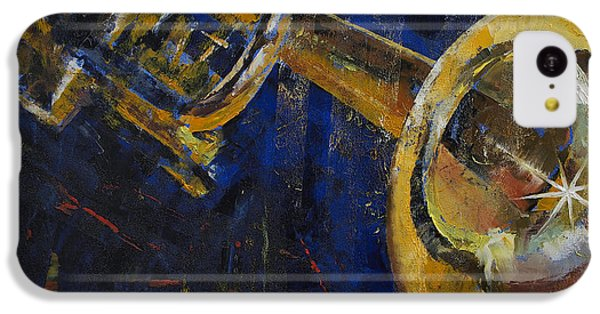 Trumpet iPhone 5c Case - Trumpet by Michael Creese