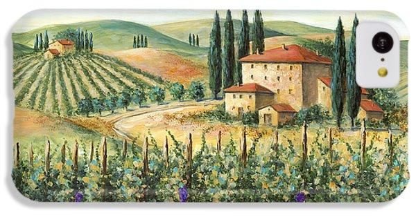 Tuscan Vineyard And Villa IPhone 5c Case
