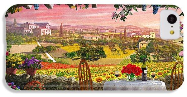 Tuscany Hills IPhone 5c Case by Dominic Davison