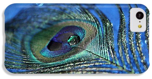 Peacock iPhone 5c Case - Twilight Escape by Krissy Katsimbras