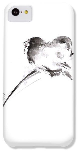 Two Birds Minimalism Artwork. IPhone 5c Case by Mariusz Szmerdt
