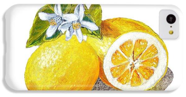 Two Happy Lemons IPhone 5c Case