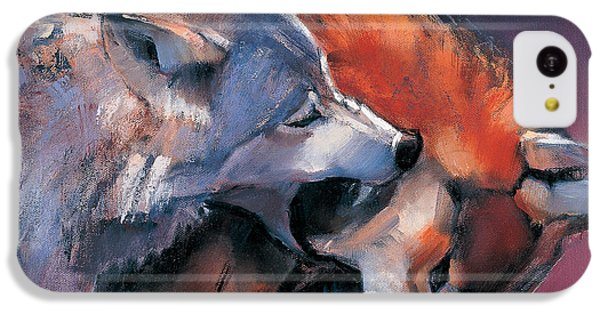 Two Wolves IPhone 5c Case