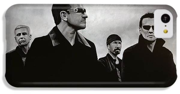 Bono iPhone 5c Case - U2 by Paul Meijering