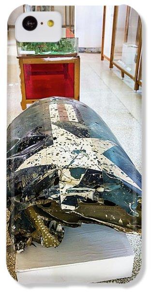 U2 Spy Plane Engine Wreck IPhone 5c Case by Peter J. Raymond