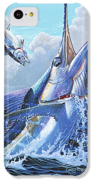 Sharks iPhone 5c Case - Unexpected Off0093 by Carey Chen