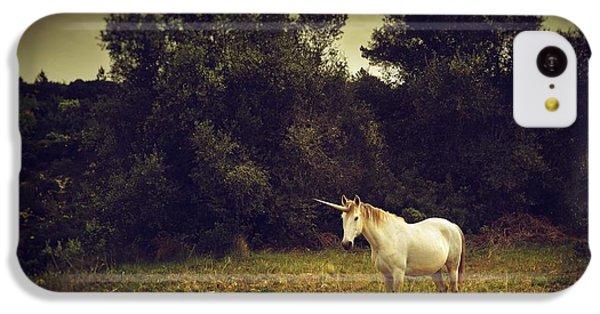 Unicorn IPhone 5c Case by Carlos Caetano