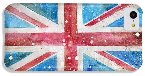 Def Leppard iPhone 5c Case - Union Jack by Sean Parnell