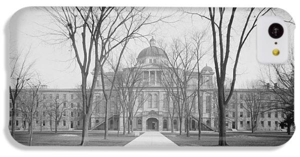 University Hall, University Of Michigan, C.1905 Bw Photo IPhone 5c Case