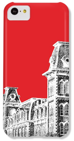 University Of Arkansas - Red IPhone 5c Case by DB Artist