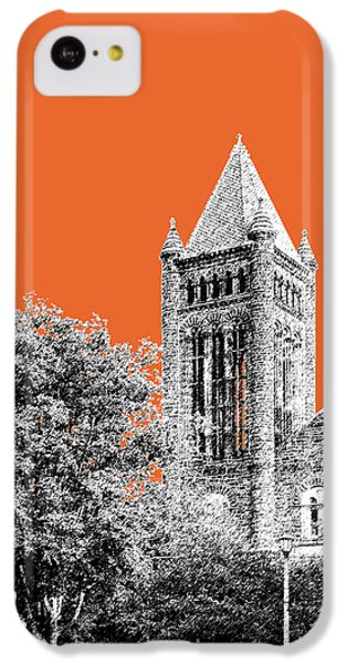 University Of Illinois 2 - Altgeld Hall - Coral IPhone 5c Case by DB Artist
