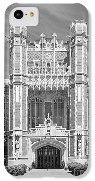 University Of Oklahoma Bizzell Memorial Library  IPhone 5c Case by University Icons