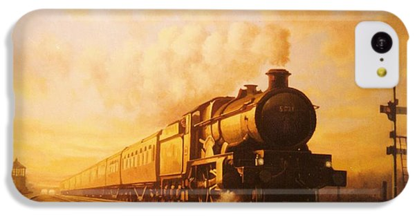 Train iPhone 5c Case - Up Express To Paddington by Mike Jeffries