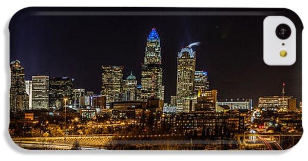 Uptown Charlotte Panorama IPhone 5c Case