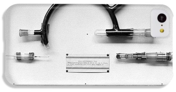 Uranium Separation Equipment, 1950s IPhone 5c Case by Emilio Segre Visual Archives/american Institute Of Physics