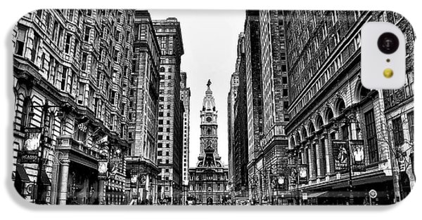 Urban Canyon - Philadelphia City Hall IPhone 5c Case by Bill Cannon