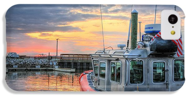 Us Coast Guard Defender Class Boat IPhone 5c Case by JC Findley