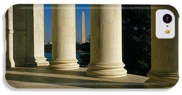 Usa, District Of Columbia, Jefferson IPhone 5c Case by Panoramic Images